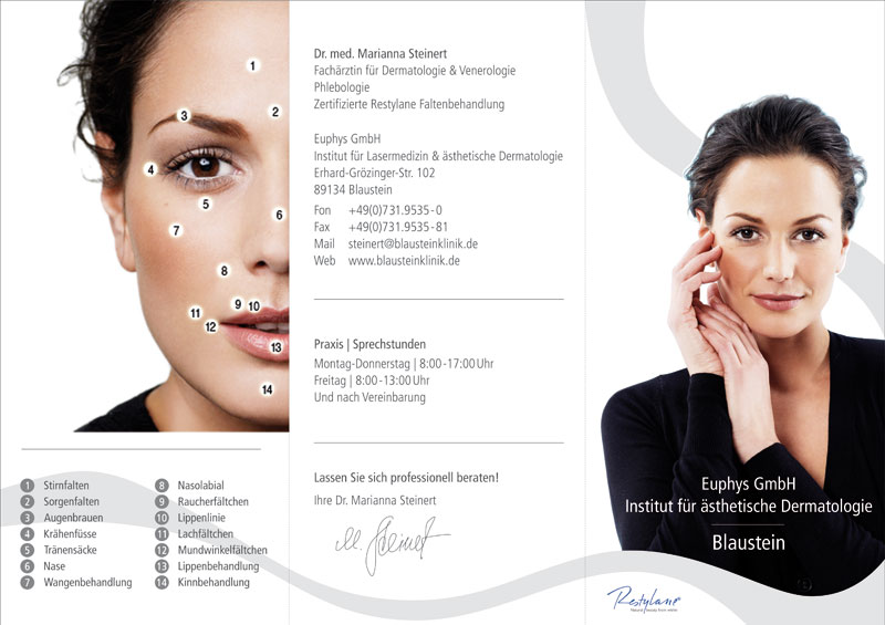 Grafik Design - Restylane Flyer