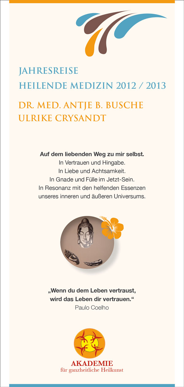 Grafikdesign - Flyer A.Busche